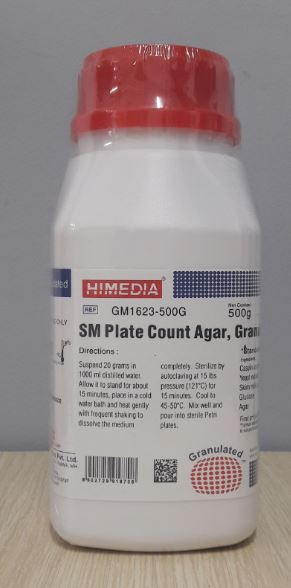 Skim Milk Plate Count Agar, Granulated (GM1623-500G)